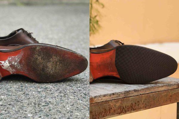 накат на обувь