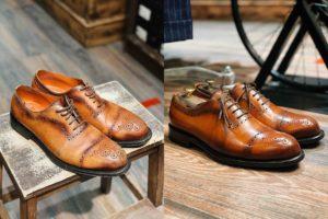 патина обуви