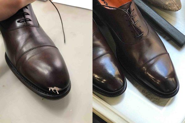 реставрация обуви