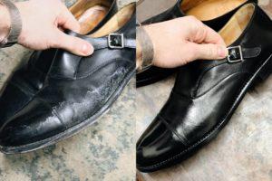 выведение соли из обуви