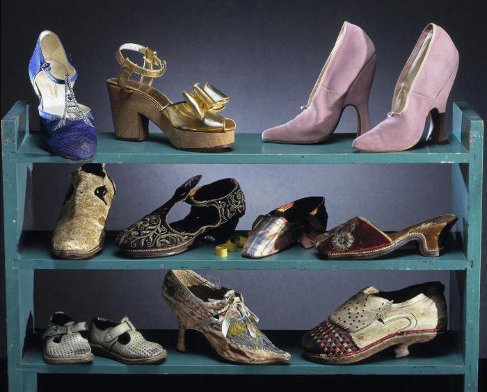 обувь средневековья
