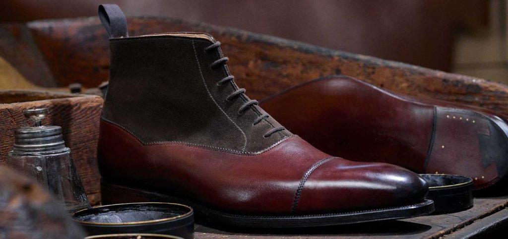 балморал ботинки