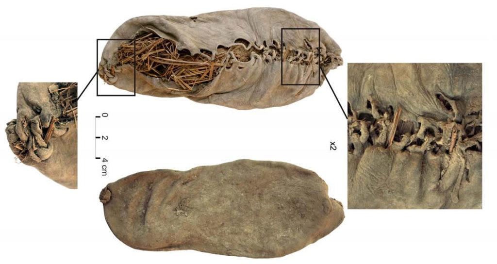 обувь каменный век