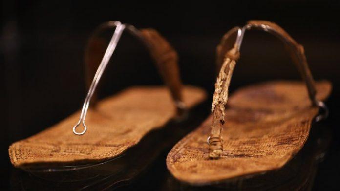 обувь древнего египта
